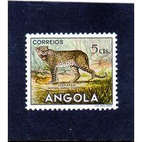 Ангола.Ми-368. Леопард (Panthera Pardus). Серия: животные.1953.