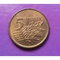 5 грошей 1991 Польша #02