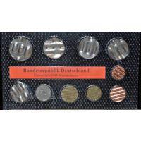 Набор гашенных монет Германии. Редкость