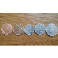 Набор монет Израиля 1949-1979