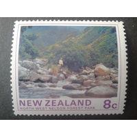 Новая Зеландия 1975 лесопарк
