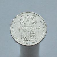 Швеция 1 крона 1969