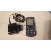 Nokia 100, аккуратный рабочий телефон. Комплект.