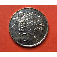 Намибия 10 центов 2012 UNC