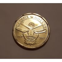 1 доллар 2017 Канада Монреаль Канадиенс