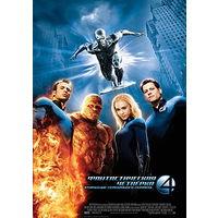 Фильмы: Фантастическая Четвёрка: Вторжение серебряного серфера (Лицензия, DVD)