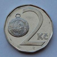 Чехия 2 кроны. 1993