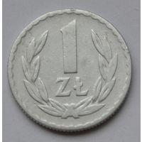 Польша 1 злотый, 1949 г.