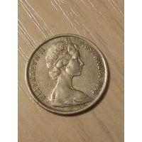 Австралия 5 центов 1966г.