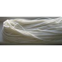 Шнур крепкий, белый (веревка) 100 метров хозяйственный рыболовный, полипропиленовый 5 мм диаметром.