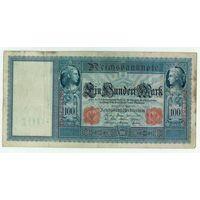 Германия, 100 марок 1910 год