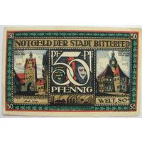 Биттерфельд 50 пфеннигов 1921