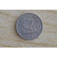 Фиджи 1 шиллинг 1957
