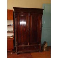 Антикварный Шкаф в стиле Бидермейер