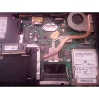 Ноутбук MSI cr-630 на запчасти