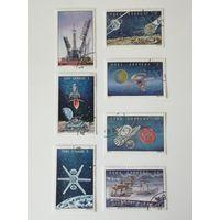Куба 1973. День космонавтики. Исследование космоса. Полная серия