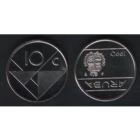 Аруба _km2 10 центов 1990 год (ba) (b06)