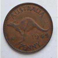 Австралия 1 пенни, 1945 3-13-3