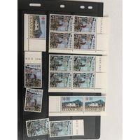 Большой лот марок Исландии. Много чистых дорогих марок.  Все на фото!  С 1 руб!