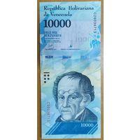 10000 боливаров 2017 года (13.12.2017) - Венесуэла - UNC
