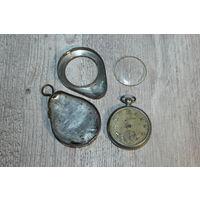 """Старые, карманные часы """"Zentra"""", заводятся, идут."""