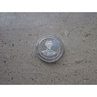 2 медали 700 лет городу Фуссен Германия серебро 999