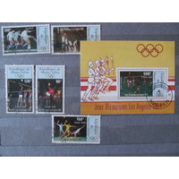 Верхняя Вольта. 1984. Олимпийские летние игры. Лос-Анжелес-84