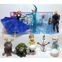 Продам серию игрушек из киндера холодное сердце