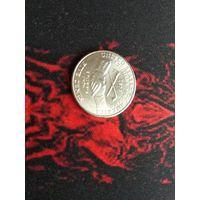 5 центов 2004 года США (Р)-34 Приобретение Луизианы