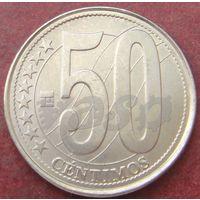 5900:  50 сентимо 2007 Венесуэла