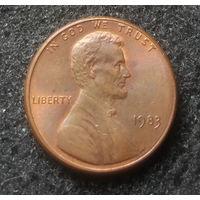 США, 1 цент 1983