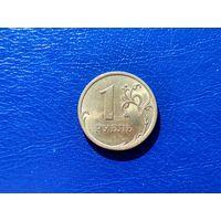 Россия. 1 рубль 2007, СПМД, более редкая монета.