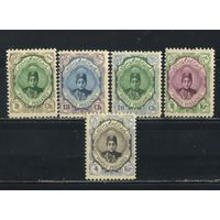 Иран Персия 1911 Ахмед Шах Каджар Стандарт (ключевая -4кр) #306,314,317,318,320*  R