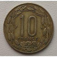 Экваториальные африканские штаты - Камерун 10 франков 1972