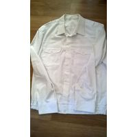 Рубашка белая МВД рост 176-182 размер 50-52 (ворот 42)