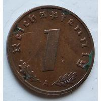 "Германия - Третий рейх 1 рейхспфенниг, 1939 ""A"" - Берлин 4-10-16"