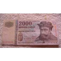 Венгрия 2000 форинтов 2013г. распродажа