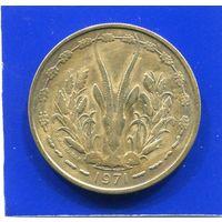 Западная Африка 25 франков 1971