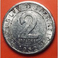 26-29 Австрия, 2 гроша 1952 г.