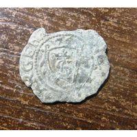 Шиллинг 1575 г.Курляндия, редкий.