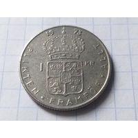 Швеция 1 крона, 1973