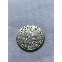 3 гроша 1590г