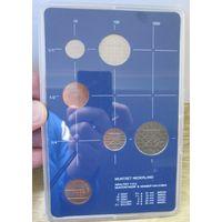 Нидерланды годовой сет монет 1983 в банковской пластиковой упаковке - UNC