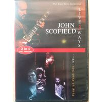 DVD JOHN SCOFIELD\PARALLEL REALITIES