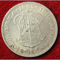 6808:  20 центов 1963 ЮАР
