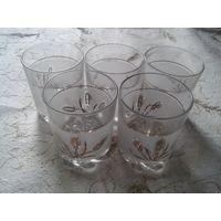 Набор стаканов для виски 5 шт. пр-во Италия