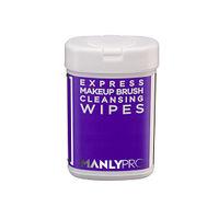 Экспресс-очищающие салфетки для кистей ManlyPRO 50 шт