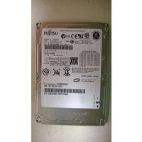 "Жёсткий диск винчестер HDD SATA 2,5"" FUJITSU MHV2120BH 120Gb. Нерабочий!!!"