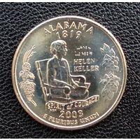 США Алабама 25 центов 2003 г. Р