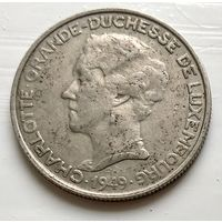 Люксембург 5 франков, 1949  3-4-18